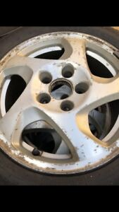 Honda prelude rims with winter tires