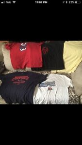 18 adult t-shirts (most are XL) everything for $5!