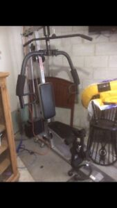 Home universal gym excellent condition
