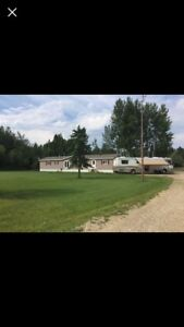 Rooms and acreage for RENT