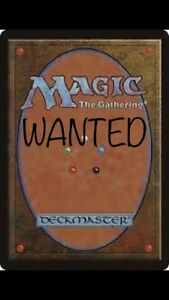 <~~~ LOOKing for magic card collections