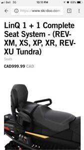 Skidoo 2 up seat