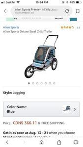 Allen jogger/bike trailer