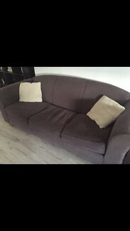 3 seater couches x 2 Raby Campbelltown Area Preview