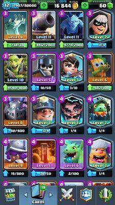 Clash Royale Level 12 75 76