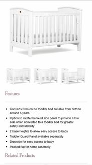 Classic Boori Country Collection 3-in-1 Cot Rozelle Leichhardt Area Preview