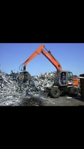 Recyclage, débarras, récupération métal