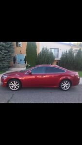 2009 Mazda6 GT V6 fully loaded