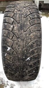 Studded Winter Tires 195/60 R 15