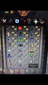 SELLING MY 119 ALMOST MAXED RUNESCAPE ACC