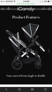icandy stroller plus accessories total value over $2k