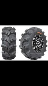 Looking for  26 X 10-12 mud tires for foreman 500