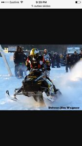 Snowmobile repair and getting ready for storage