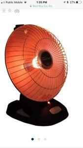 Presto heat dish space heater