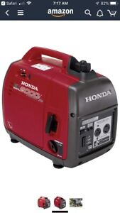Honda generator wanted.