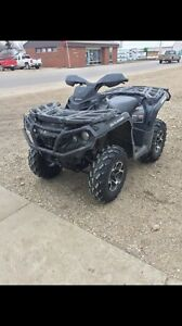 Trade for sled! 2012 Can Am Outlander XT 1000