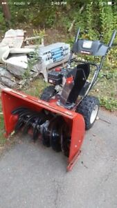 Snowblower works mint hardly used