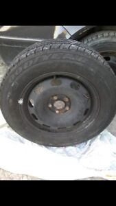 Goodyear tire an spare rim  (195/65R15)
