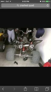 Wanted!cheap four wheeler frame