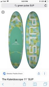 Pulse 11' Stand Up Paddleboard (SUP) with paddle