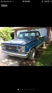 Looking for 70s-80s chevy square body.