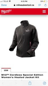 Milwaukee heated med ladies jacket