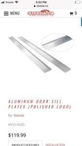 Ford Mustang Polished Door Sills