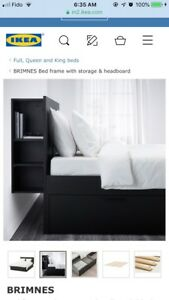 Free ikea double bed frame