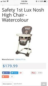 Safety 1st LUX High Chair