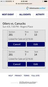 Oilers vs Canucks --final game !