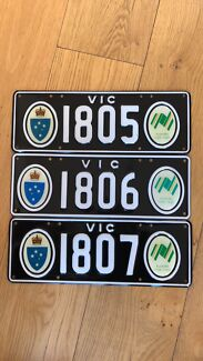 Number Plates  Bicentennial Number Plates VIC