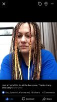 Synthetic box braids/ micro braids