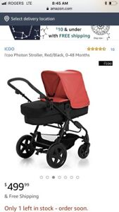 I'COO STOLLER AND BASSINET