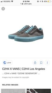 1 of 100 Made! C2H4 x Vans Size 9.5