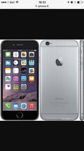 iPhone 6 64 Gig flambent neuf remplacer sur garantie Apple care
