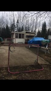 Trailer/camp site must sell!