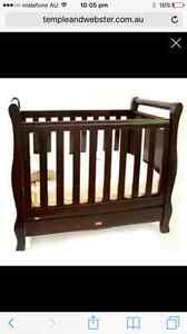 Love n Care SLEIGH cot and change table/chest Penrith Penrith Area Preview