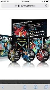 CIZE DVDs workout