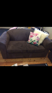 Two seater and three seater lounge. Muswellbrook Muswellbrook Area Preview