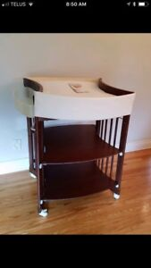 Stokke Care Change Table in Walnut