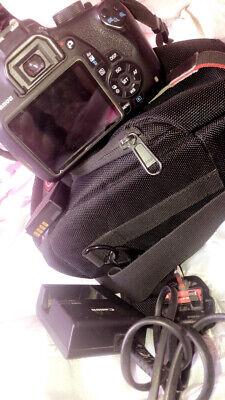 Canon EOS 1200D 18.0MP Digital SLR Camera - Black (Kit w/ EF-S 18-55mm f/3.5-5.6