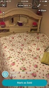 Bed set for sale!! (Reduced price)