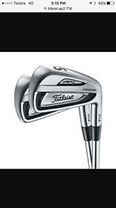 Titleist 714 AP2 4-PW Stiff shafts Prospect Launceston Area Preview