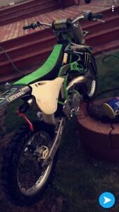 Kx250/ trade for sled