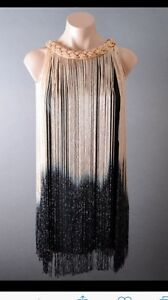 Ombré cocktail dress
