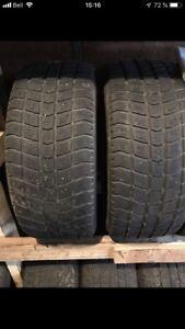 2 pneus P195/55R15