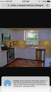 LOOKING FOR: WHITE KITCHEN CABINETS