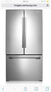 Réfrigérateur Samsung 36 pouces  (rf261beaesr)
