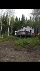 Hunting, fishing, atv snowmobile camp