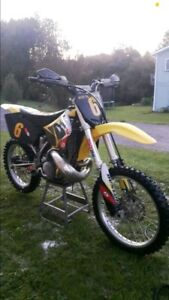 Beautiful 2001 rm250 fresh rebuild, ownership in hand